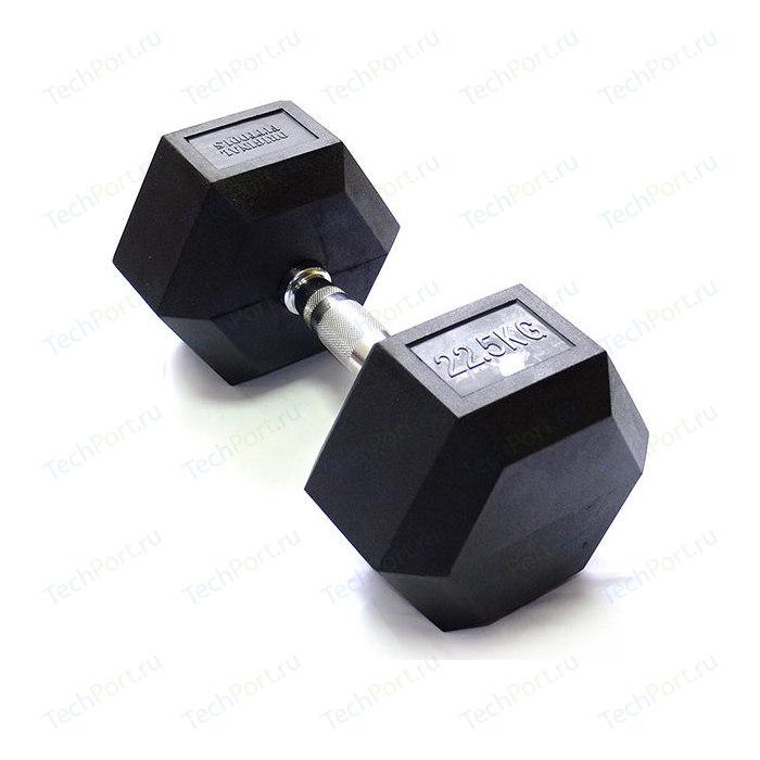 Гантель Original FitTools гексагональная 22,5 кг