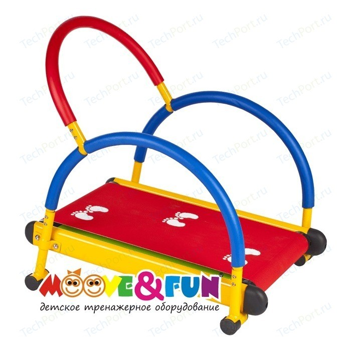Тренажер детский Moove&Fun механический Беговая дорожка с компьютером (TFK-01C/SH-01C)