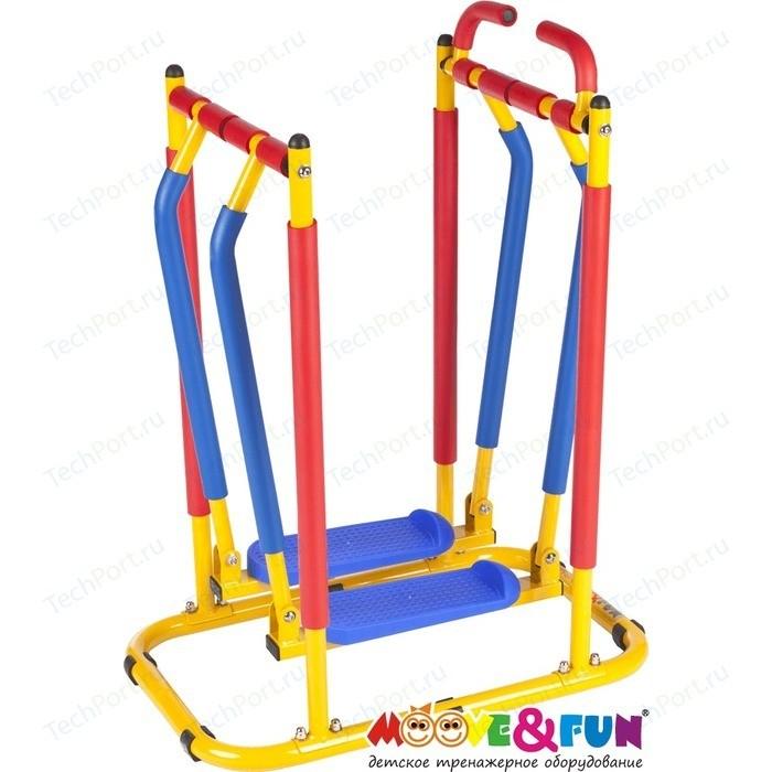 Тренажер детский Moove&Fun механический Бегущая по волнам/Ходики/ (TFK-03/SH-03)