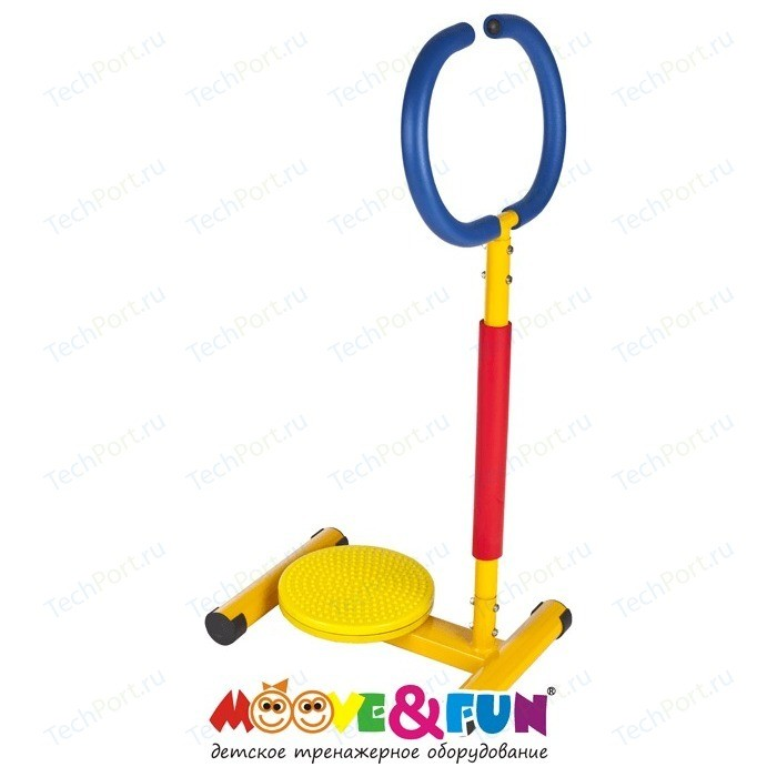 Тренажер детский Moove&Fun механический Твистер с ручкой (TFK-11/SH-11)