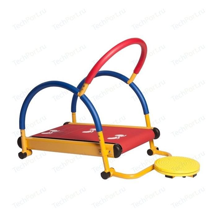 Тренажер детский Moove&Fun механический Беговая дорожка с диском-твист (TFK-01-T/SH-01-T)