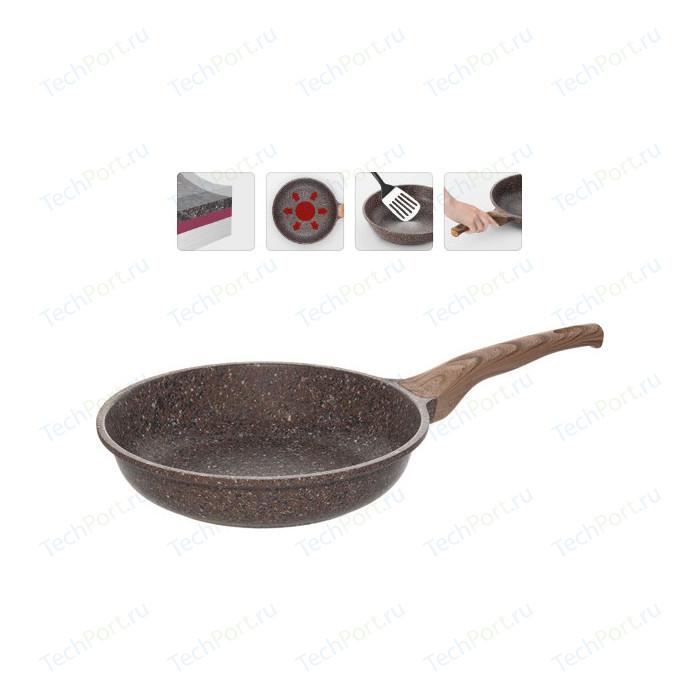Сковорода Nadoba d 26см Greta (728617) сковорода d 24 см kukmara кофейный мрамор смки240а