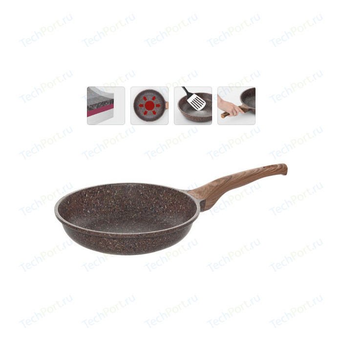 Сковорода Nadoba d 24см Greta (728618) сковорода для блинов nadoba d 24см greta 728621