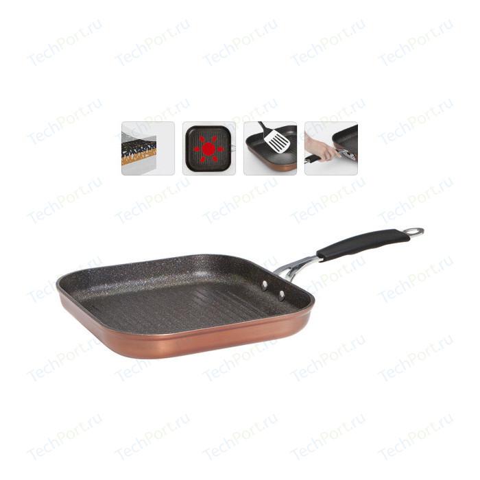 Сковорода-гриль Nadoba 26x26 см Medena (728720) сковорода гриль tima 26x26 см шеф 2614п