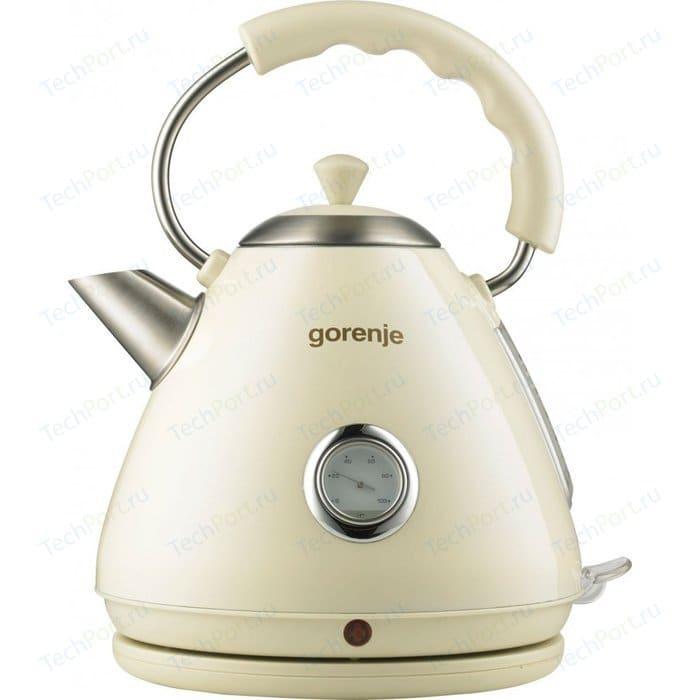 Чайник электрический Gorenje K17CLI чайник gorenje k17fe серебристый