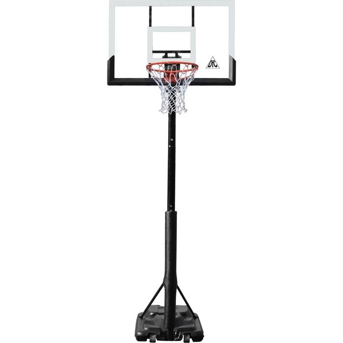 Баскетбольная мобильная стойка DFC STAND56P 143x80 см поликарбонат