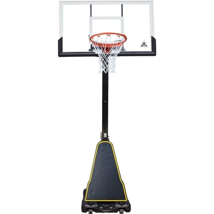 Баскетбольная мобильная стойка DFC STAND60P 152x90 см поликарбонат