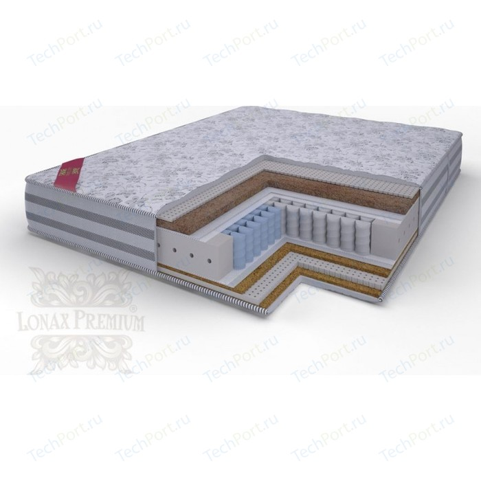 Матрас Lonax Lorentto Pocket multizone 5-зон 80х195х26