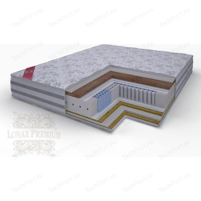 Матрас Lonax Lorentto Lux Anatomic multizone 5-зон 80х190х26