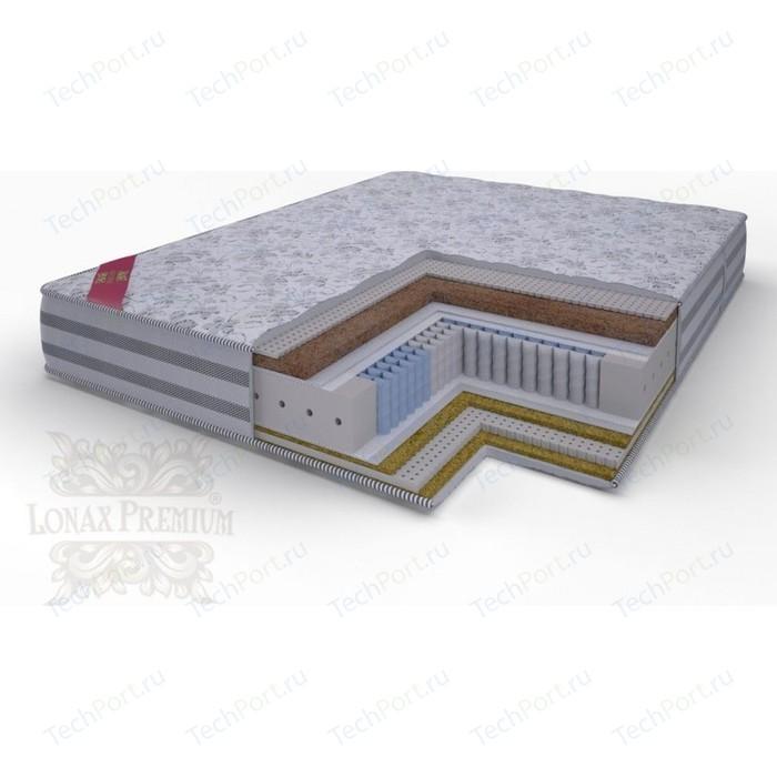 Матрас Lonax Lorentto Lux Anatomic multizone 5-зон 80х200х26