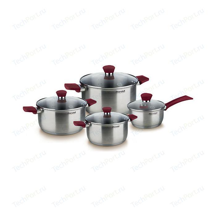 Набор посуды 8 предметов Rondell Strike (RDS-818) rondell rds 817 strike