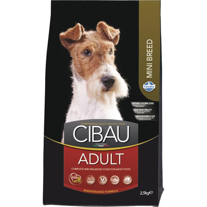 Сухой корм Farmina CIBAU Adult Mini Breed для взрослых собак мелких пород 2,5кг