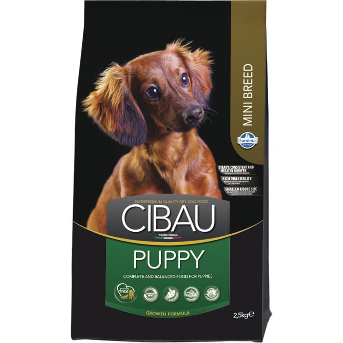 Сухой корм Farmina CIBAU Puppy Mini Breed для щенков мелких пород 2,5кг