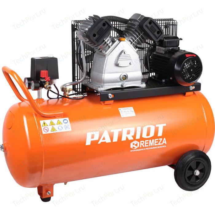 Компрессор масляный PATRIOT REMEZA СБ 4/С-100 LB 30 компрессор ременной patriot remeza сб 4 с 100 lb 30 a