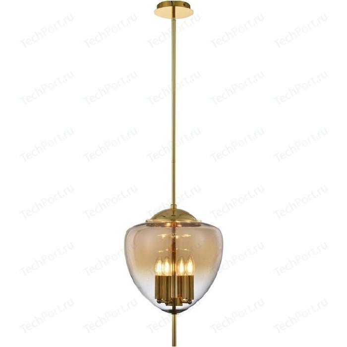 Подвесная люстра Crystal Lux Milagro SP4 A Gold
