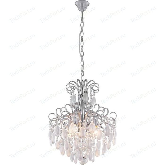 Подвесная люстра Crystal Lux Sevilia SP4 Silver