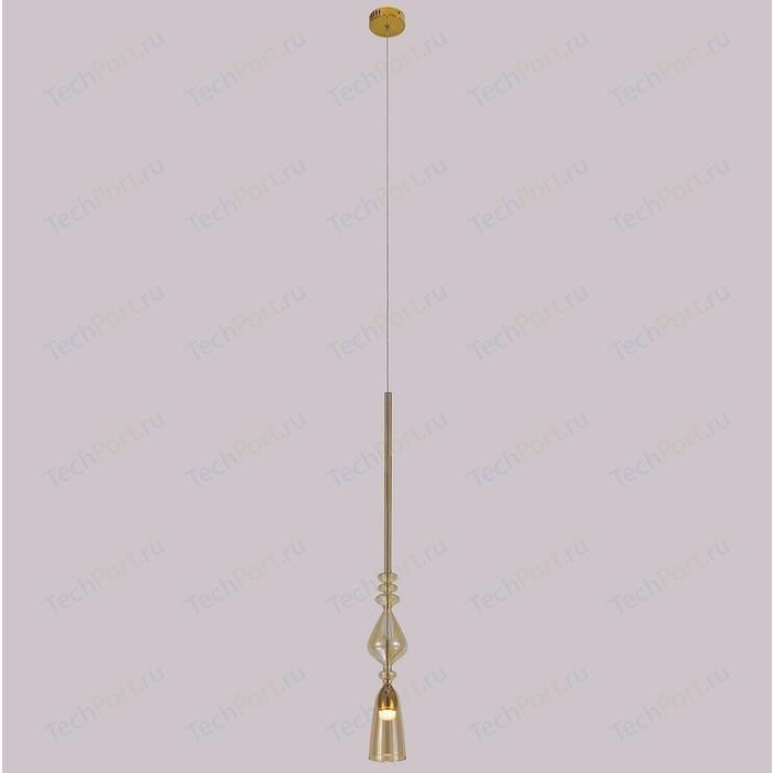 Подвесной светодиодный светильник Crystal Lux SP1 B Amber