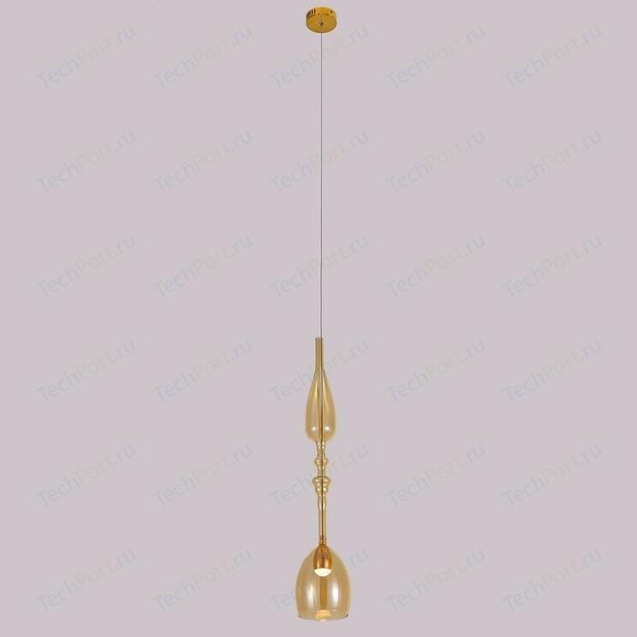 Подвесной светодиодный светильник Crystal Lux SP1 C Amber