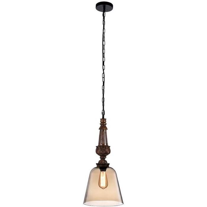 Подвесной светильник Crystal Lux Deco SP1 A Amber