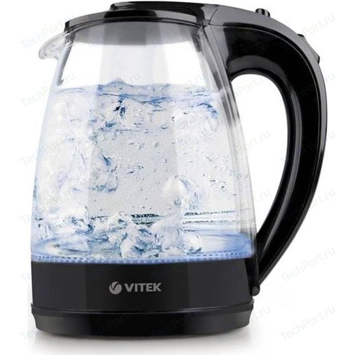 Чайник электрический Vitek VT-1122(TR) чайник vitek vt 7008 tr 2200 вт 1 7 л пластик стекло чёрный