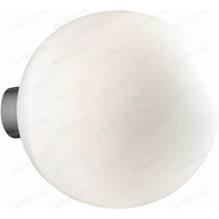 Настенный светильник Ideal Lux Mapa Bianco AP1 D30