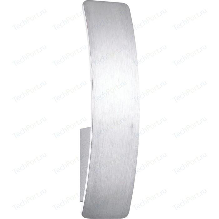 Настенный светодиодный светильник Ideal Lux Vela AP1 Alluminio