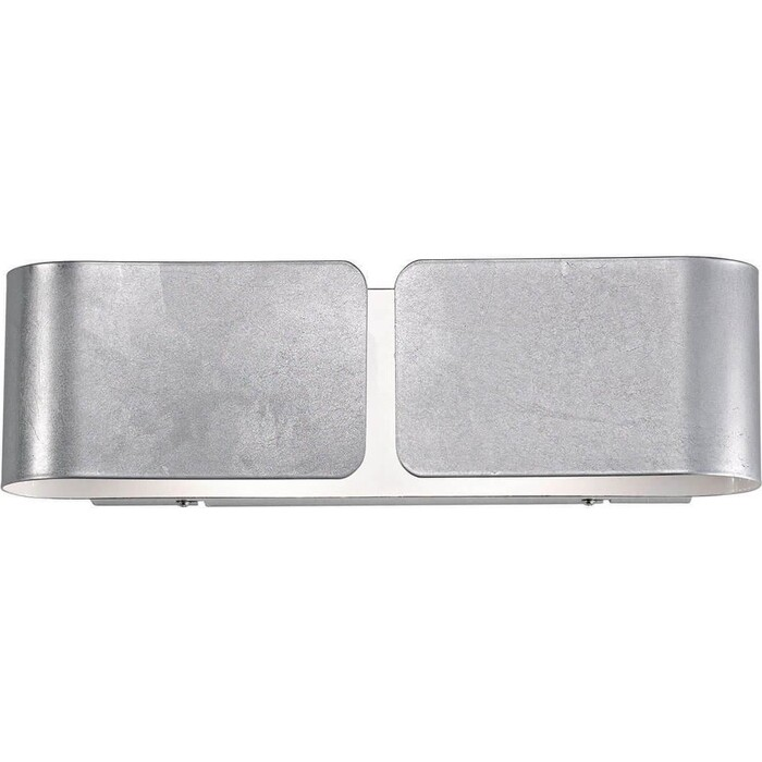 Настенный светильник Ideal Lux Clip AP2 Mini Argento бра ideal lux senix senix ap2