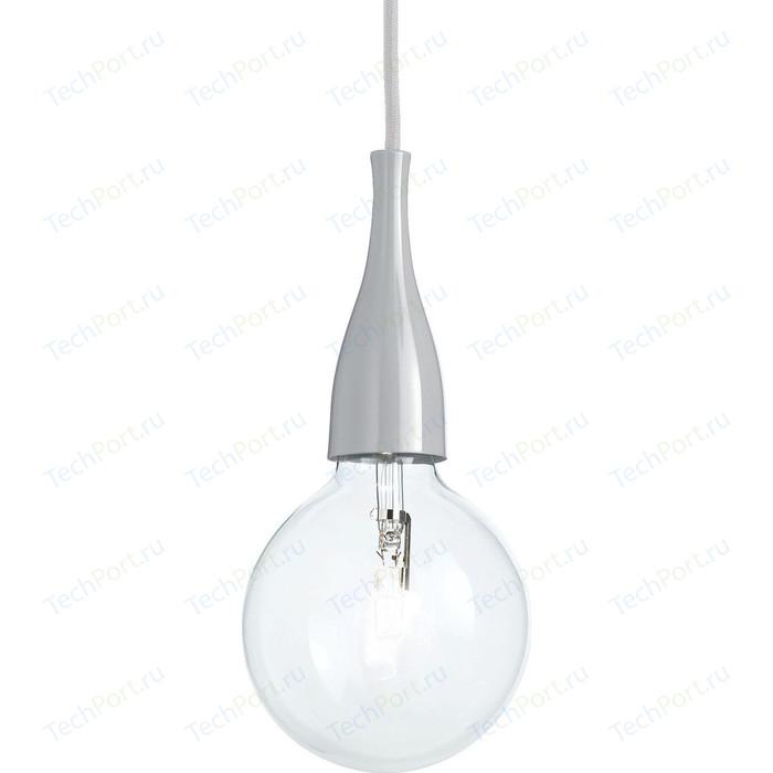 Подвесной светильник Ideal Lux Minimal SP1 Grigio цена 2017