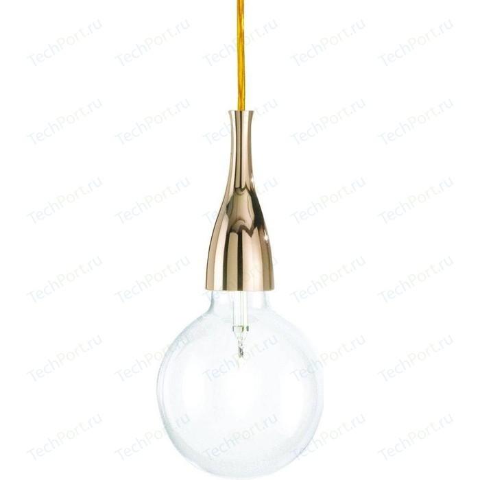 Подвесной светильник Ideal Lux Minimal SP1 Oro недорого