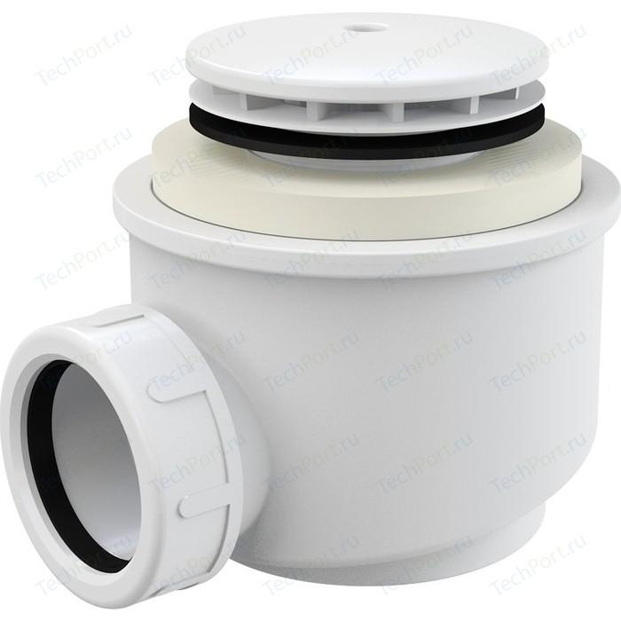Сифон для душевого поддона AlcaPlast D50 белый (A47B-50)