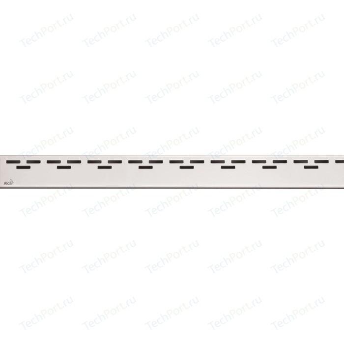 Решетка AlcaPlast Hope нержавеющая сталь матовая (HOPE-950M)