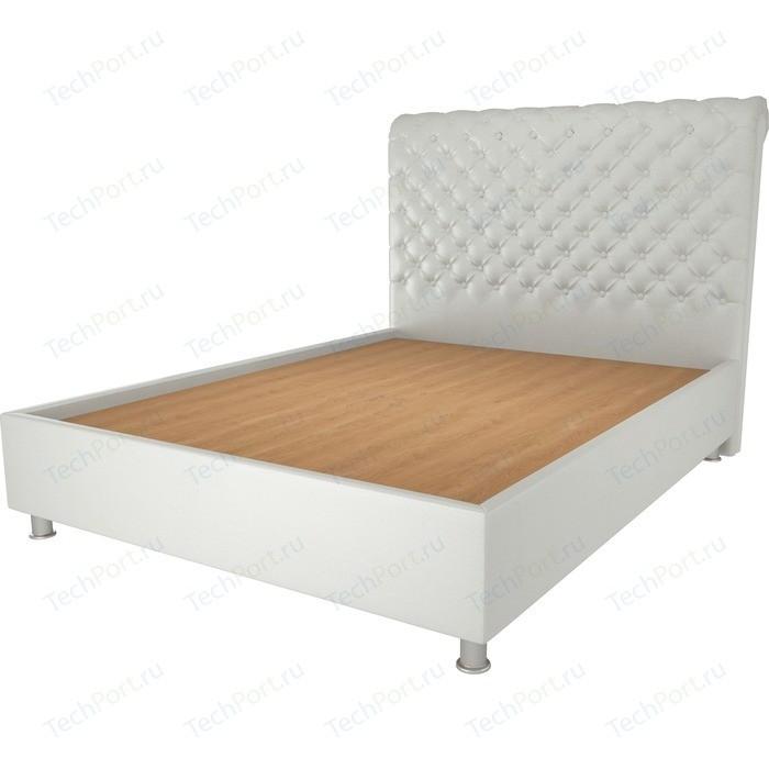 Кровать OrthoSleep Симона жесткое основание белый 90х200