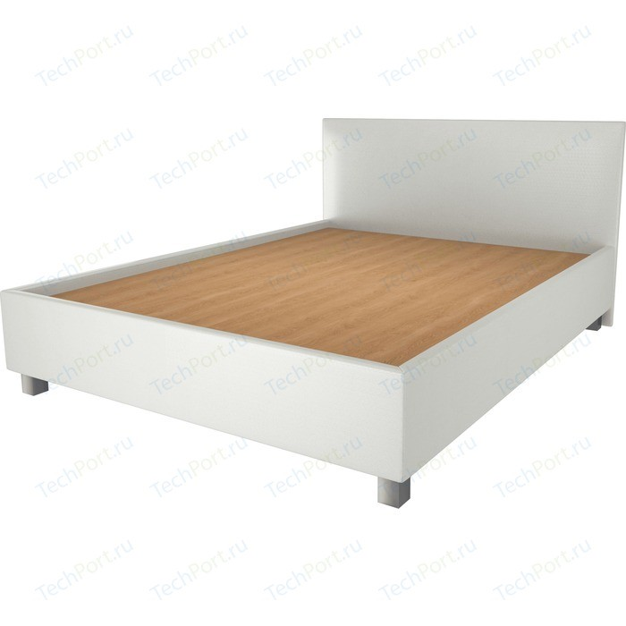 Кровать OrthoSleep Ниагара жесткое основание белый 140х200 кровать orthosleep ниагара бисквит жесткое основание 140х200