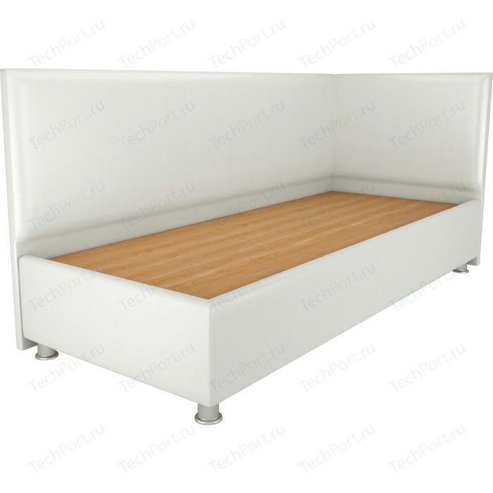 Кровать OrthoSleep Бибионе Лайт жесткое основание белый 200х200