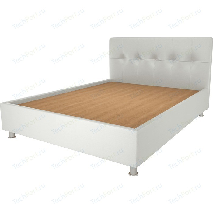Кровать OrthoSleep Примавера уно жесткое основание белый 80х200