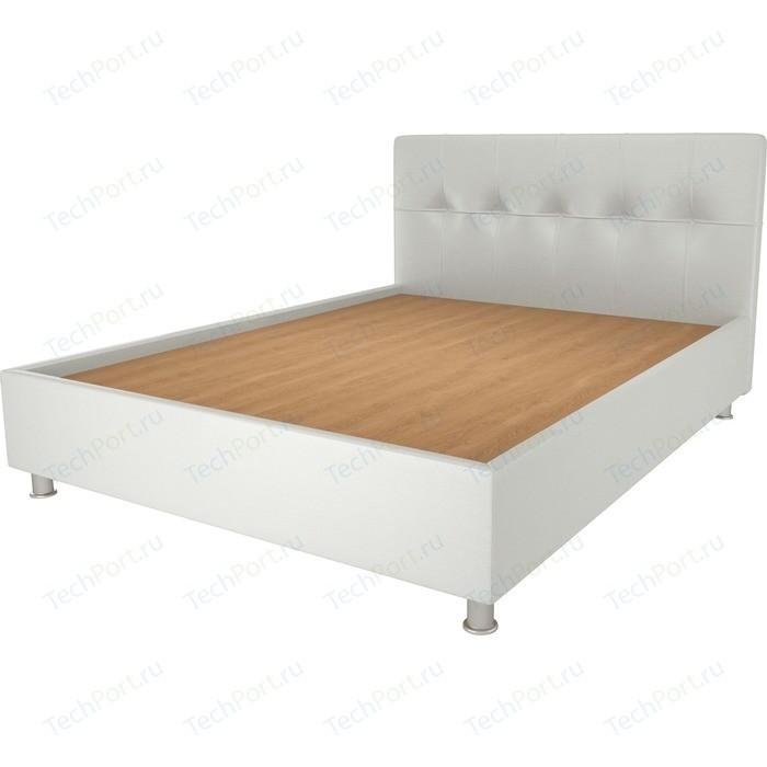 Кровать OrthoSleep Примавера уно жесткое основание белый 200х200