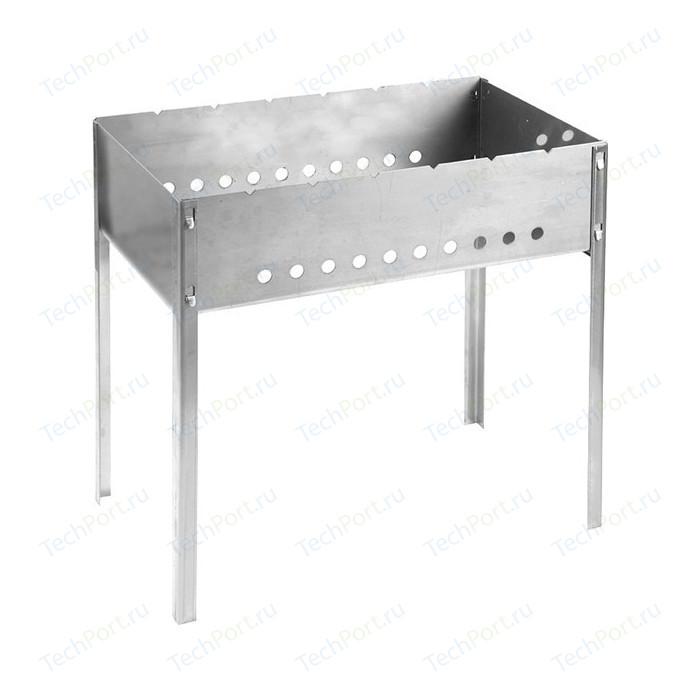Мангал Grinda barbecue 427784 , нержавеющая сталь, толщина 1,5мм, 500х300х500мм