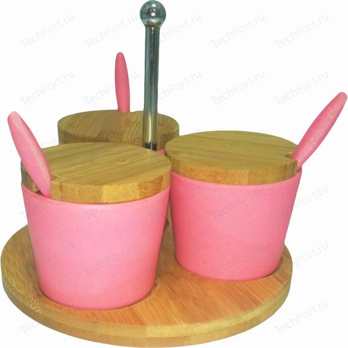 Набор для специй сервировочный из бамбука 3 предмета Frybest Bamboo (BM-05-4)
