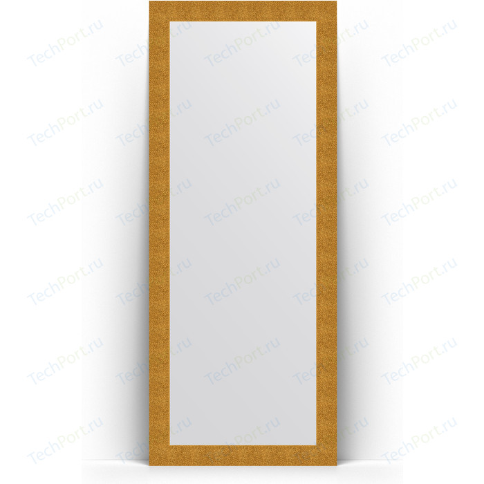 Фото - Зеркало напольное Evoform Definite Floor 81x201 см, в багетной раме - чеканка золотая 90 мм (BY 6008) зеркало напольное 111х201 см чеканка золотая evoform definite floor by 6020