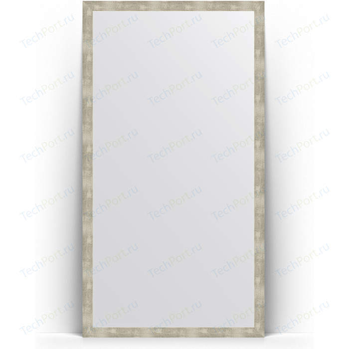Зеркало напольное Evoform Definite Floor 106x196 см, в багетной раме - алюминий 61 мм (BY 6013) зеркало в багетной раме поворотное evoform definite 73x93 см слоновая кость 51 мм by 1040