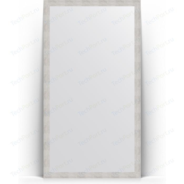 Зеркало напольное Evoform Definite Floor 108x197 см, в багетной раме - серебряный дождь 70 мм (BY 6014)