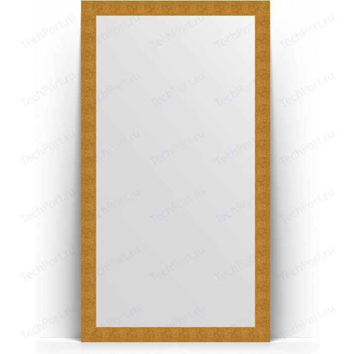 Зеркало напольное Evoform Definite Floor 111x201 см, в багетной раме - чеканка золотая 90 мм (BY 6020)