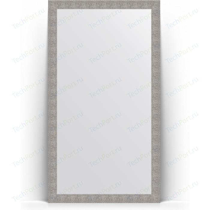 Фото - Зеркало напольное Evoform Definite Floor 111x201 см, в багетной раме - чеканка серебряная 90 мм (BY 6021) зеркало напольное 111х201 см чеканка золотая evoform definite floor by 6020