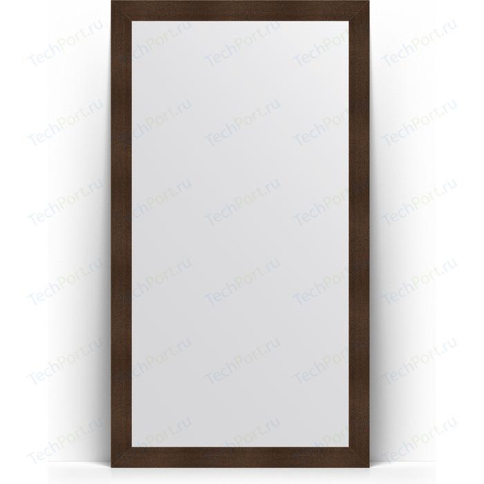 Зеркало напольное Evoform Definite Floor 111x201 см, в багетной раме - бронзовая лава 90 мм (BY 6022)