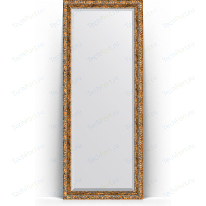 Фото - Зеркало напольное с фацетом Evoform Exclusive Floor 80x200 см, в багетной раме - виньетка античная бронза 85 мм (BY 6114) зеркало напольное с фацетом evoform exclusive floor 85x205 см в багетной раме виньетка античная бронза 109 мм by 6135