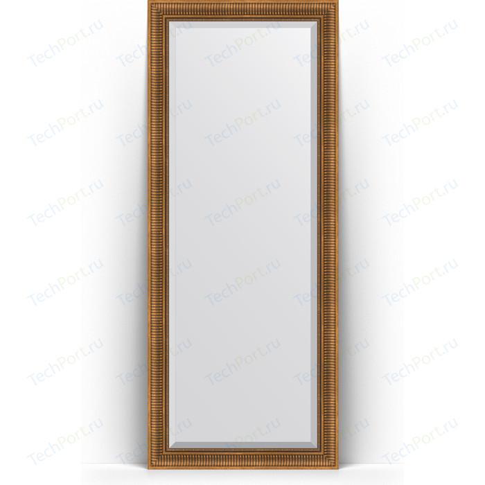 Фото - Зеркало напольное с фацетом Evoform Exclusive Floor 82x202 см, в багетной раме - бронзовый акведук 93 мм (BY 6122) зеркало с фацетом в багетной раме поворотное evoform exclusive 57x77 см бронзовый акведук 93 мм by 3388