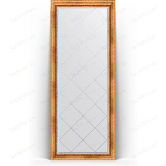 Зеркало напольное с гравировкой Evoform Exclusive-G Floor 81x201 см, в багетной раме - римское золото 88 мм (BY 6317) зеркало напольное с гравировкой evoform exclusive g floor 81x201 см в багетной раме римское золото 88 мм by 6317