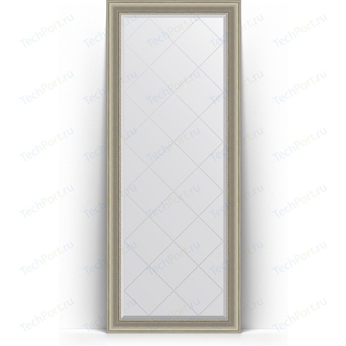 Зеркало напольное с гравировкой Evoform Exclusive-G Floor 81x201 см, в багетной раме - хамелеон 88 мм (BY 6320) зеркало напольное с гравировкой evoform exclusive g floor 81x201 см в багетной раме римское золото 88 мм by 6317