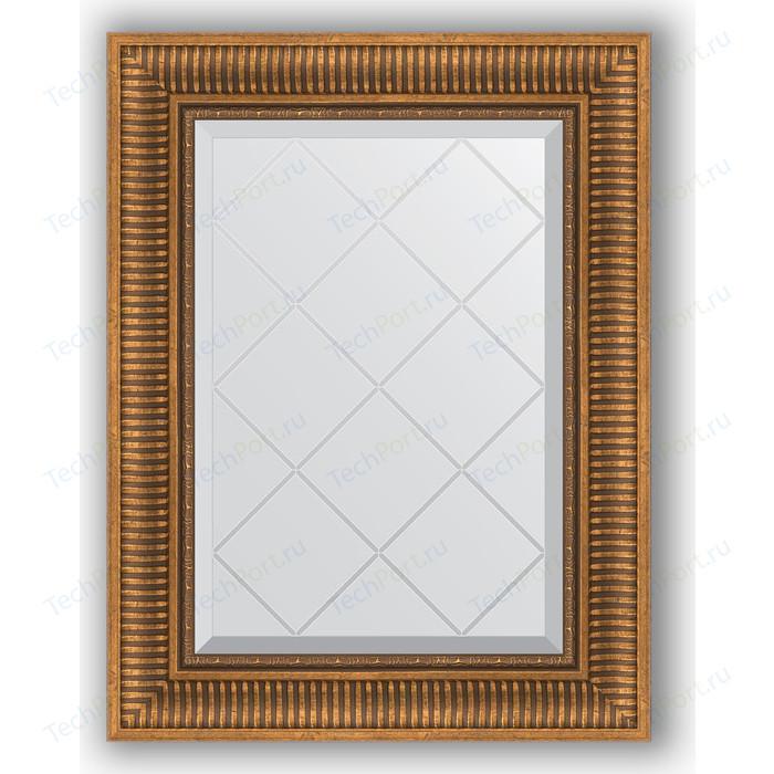 Фото - Зеркало с гравировкой поворотное Evoform Exclusive-G 57x75 см, в багетной раме - бронзовый акведук 93 мм (BY 4025) зеркало с фацетом в багетной раме поворотное evoform exclusive 57x77 см бронзовый акведук 93 мм by 3388