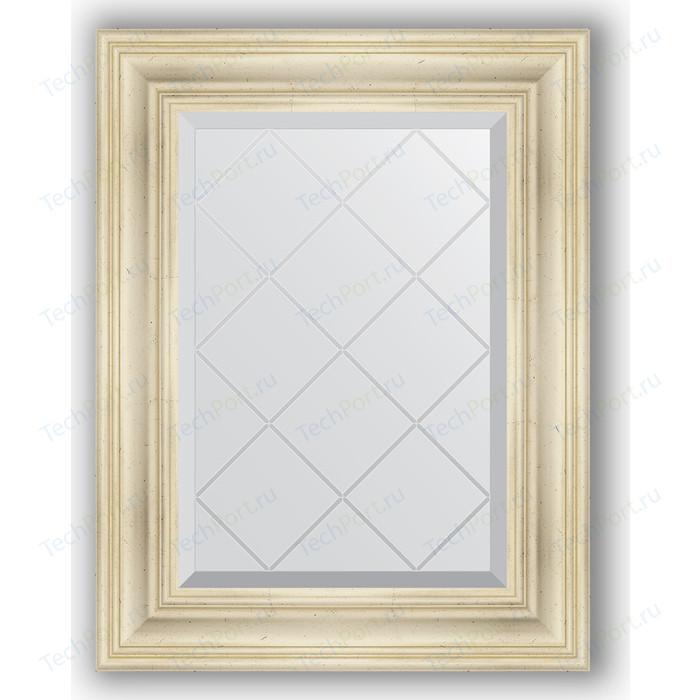 Фото - Зеркало с гравировкой поворотное Evoform Exclusive-G 59x76 см, в багетной раме - травленое серебро 99 мм (BY 4031) зеркало в багетной раме поворотное evoform definite 82x102 см травленое серебро 99 мм by 3284